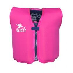 Жилет для плавания Keidzy розовый (L)
